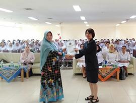 Orientasi Pengalaman Belajar Mahasiswa STIKes Mitra Husada Medan di Rumah Sakit Universitas Sumatera Utara. Senin, 04 November 2019