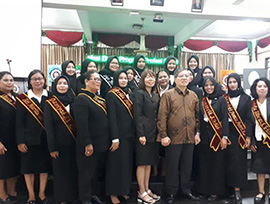 Yudisium Mahasiswa Prodi Kebidanan Program Sarjana Terapan & Program Studi Pendidikan Profesi Bidan Program Profesi Sabtu, 24 Agustus 2019