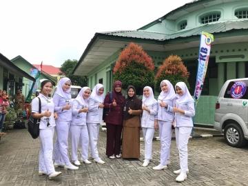 Kegiatan Pengabdian Masyarakat KB Safari di kantor Pemberdayaan Perempuan Kota Tebing Tinggi, Selasa, 08 Oktober 2019