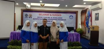 Kegiatan Monitoring dan Evaluasi Kompetisi Bisnis Mahasiswa Indonesia di Universitas Muhammadiyah Sumatera Utara