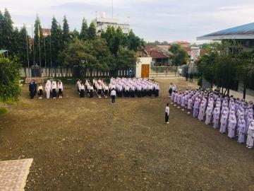 Kegiatan Upacara Senin 02 Desember 2019. Panitia Upacara Mahasiswa Keperawatan Program Diploma Tiga