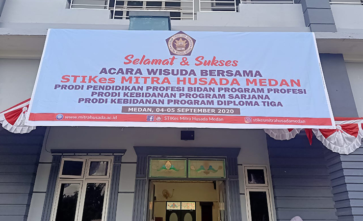 Wisuda Lulusan Prodi Pendidikan Profesi Bidan Program Profesi Angkatan II STIKes Mitra Husada Medan