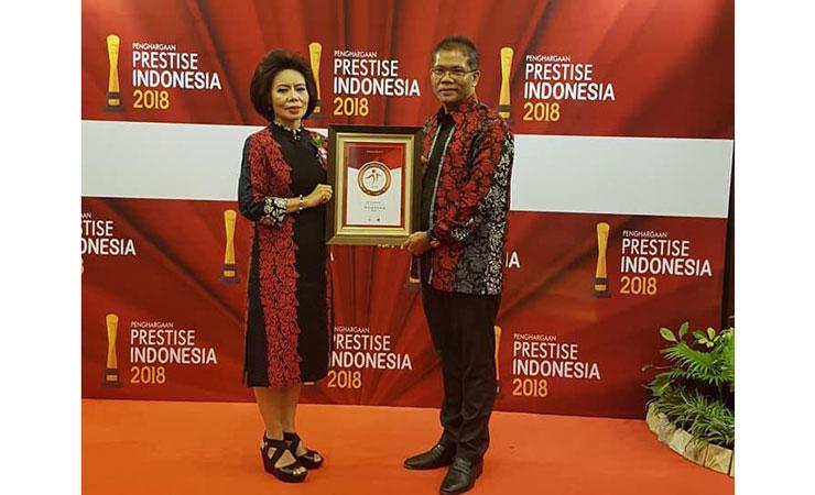 Penghargaan Prestise Indonesia 2018