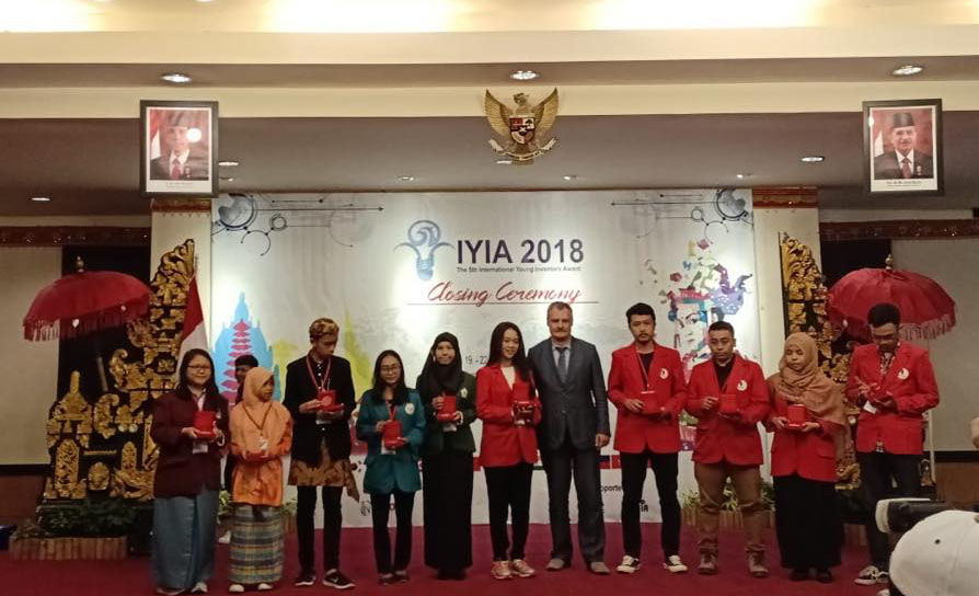 Penghargaan dengan Medali Silver IYIA 2018