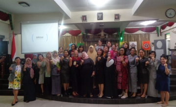 STIKes Mitra Husada Medan Workshop on Development of  Health and Midwifery