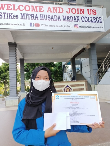 Selamat dan Sukses Mahasiswa STIKes Mitra Husada Medan Juara Harapan 1 Kompetisi Pemilihan Mahasiswa Berprestasi di LLDIKTI Wilayah 1