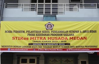 Yudisium, Pelantikan Serta Pengambilan Sumpah & Janji Bidan Prodi Kebidanan Program Sarjana TA. 2019/2020