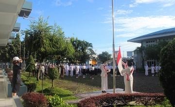 Upacara Bendera Hari Guru Nasional 2020 Ke-75