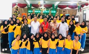Penandatanganan MoU oleh STIKes Mitra Husada Medan dengan BPBD Sumut