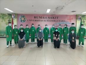 Pelaksanaan Praktik Di RS Universitas Sumatera Utara oleh Mahasiswa Keperawatan