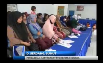 Pengabdian Masyarakat STIKes Mitra Husada Medan