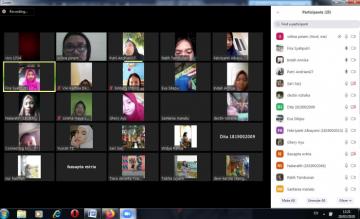 STIKes Mitra Husada Medan Melakukan Pembelajaran Online dengan Video Conference