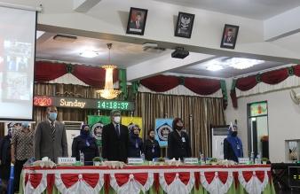Acara Penerimaan Mahasiswa Baru STIKes Mitra Husada Medan T.A 2020/2021