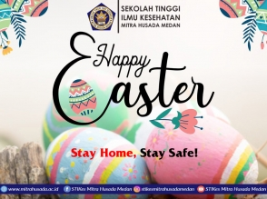 Happy Easter 2020, Stay Home, Stay Safe