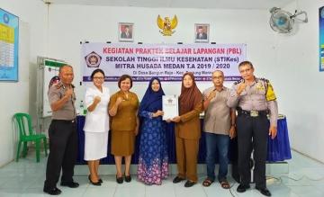 Pembukaan Kegiatan Praktek Belajar Lapangan (PBL) Mahasiswa Prodi D3 Kebidanan T.A 2019/2020 Di Balai Desa Bangun Rejo Kec.Tanjung Morawa