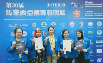 MEDALI GOLD dalam kegiatan Kompetisi World Young Inventors Exhibition (WYIE)
