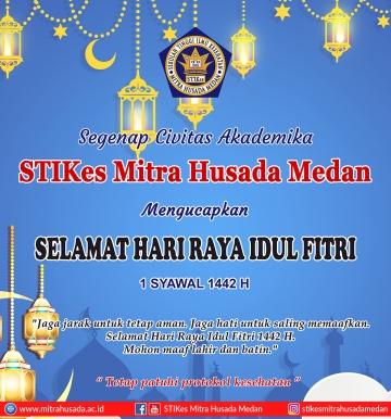 Selamat Hari Raya Idul Fitri 1 Syawal 1442 H