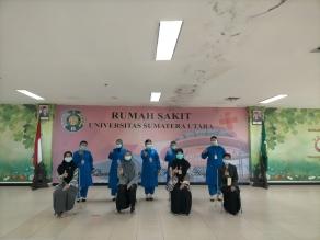 Pelaksanaan Praktik Di RS Universitas Sumatera Utara